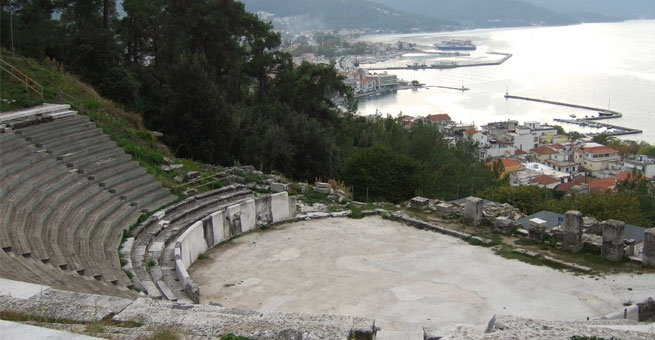 06 - Ancient Theater in Limenas